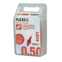 TANDEX Flexi mezizubní kartáček 0.5 červené TA819073 6 ks