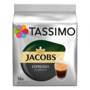 TASSIMO Jacobs náplň do espressa classico 16 kapslí