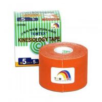 TEMTEX Tejpovací páska Tourmaline oranžová 5cm x 5m