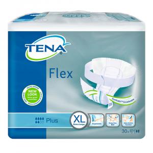 TENA Flex plus plenkové kalhotky 6 kapek vel. XL 30 ks
