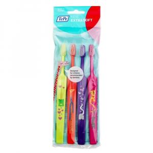 TEPE Zubní kartáček select compact Kid zoo x - soft 3+1 ZDARMA