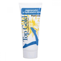 TOP GOLD Regenerační a hydratační krém na nohy 100 ml