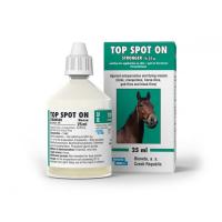 BIOVETA Top Spot On roztok pro nakapání na kůži pro koně 25 ml