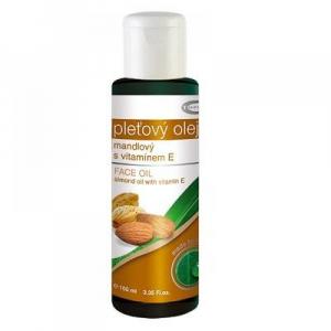 TOPVET Mandlový olej 100% s vitaminem E 100 ml