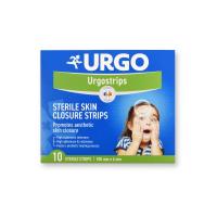 URGO Strips Fixační náplasťové stehy 100 x 6 mm 10 ks