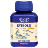 VitaHarmony Rybí olej Omega 3 tbl. 50