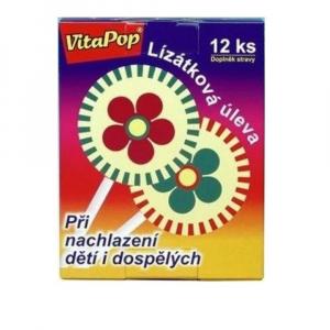 VitaHarmony VitaPop 12 ks lízátek při nachlazení
