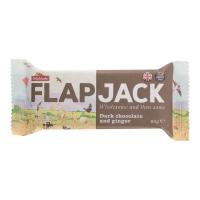 WHOLEBAKE Flapjack ovesný čokoláda se zázvorem bezlepkový 80 g