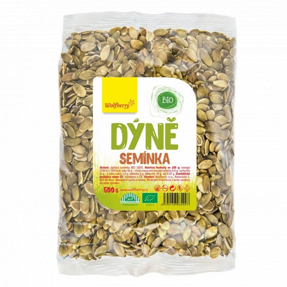 WOLFBERRY BIO Dýňové semínko loupané 500 g
