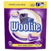 WOOLITE Black, Darks, Denim Gelové kapsle 28 kusů