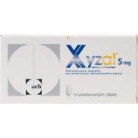 XYZAL Potahované tablety 14 x 5 mg
