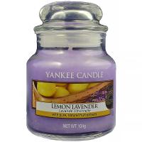 YANKEE CANDLE Classic Lemon Lavender 104 g