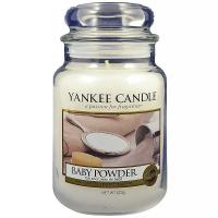 YANKEE CANDLE Classic Baby Powder velký 623 g, Vůně: Baby Powder