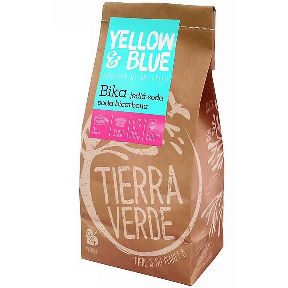 YELLOW&BLUE BIKA – Jedlá soda Bikarbona sáček 1 kg