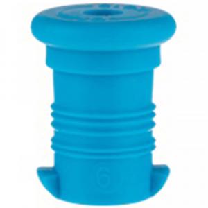 ZDRAVÁ LAHEV Zátka modrá fluo