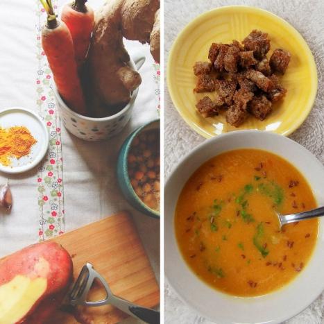 Zdravé vaření: Zahřejte se s kurkumou