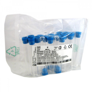Zkumavka 10ccm PS - sterilní 20ks V400914